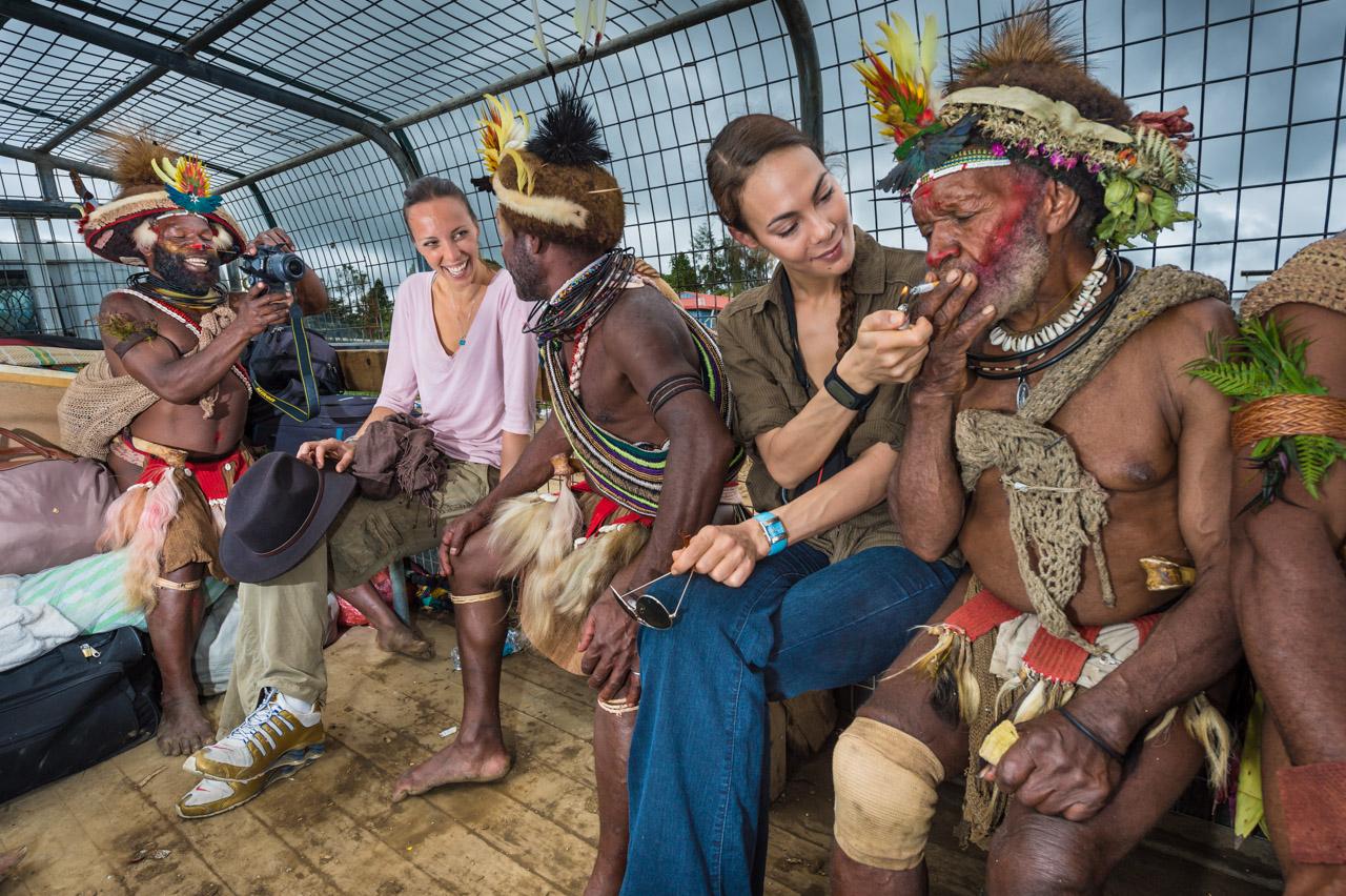 Trobrianders of papua new guinea