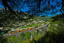 France • Digne - Nice : Le TGV des Pignes