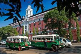 Birmanie • Rangoun : nostagie city