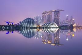 Singapour : Le jardin du futur