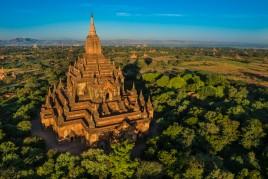Birmanie • Bagan : la terre des seigneurs vue du ciel